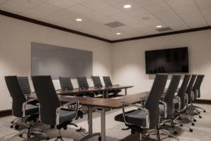 Kalamazoo Radisson Boardroom Meeting Setup