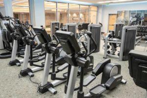 Kalamazoo Athletic Club Life Fitness Cardio Machines