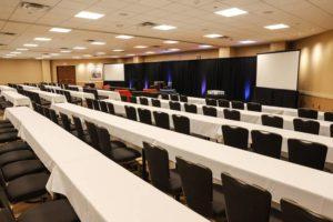 Kalamazoo Radisson Event Space Prairies Meeting Setup
